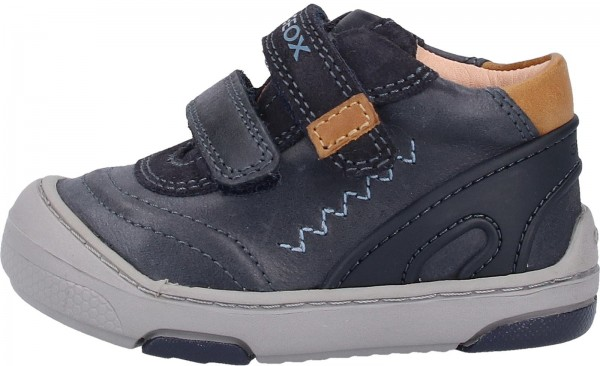 Geox Sneaker Leder Blau