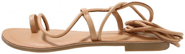 Inuovo Sandals Leather Beige / Brown