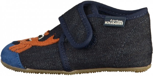 Living Kitzbühel Hausschuhe Textil Dunkelblau