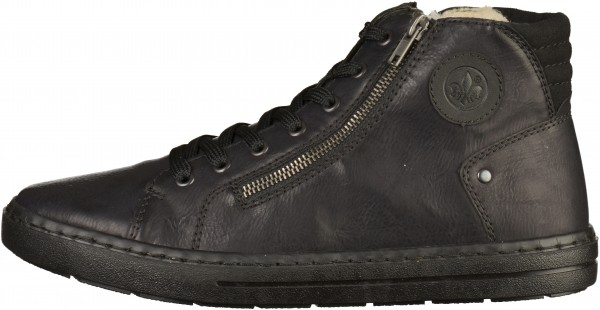 Rieker Sneaker Synthetik black2