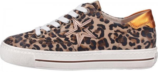 Paul Green Sneaker Leder Leopard