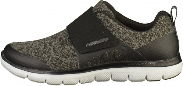 Skechers Sneaker Lederimitat/Textil Schwarz