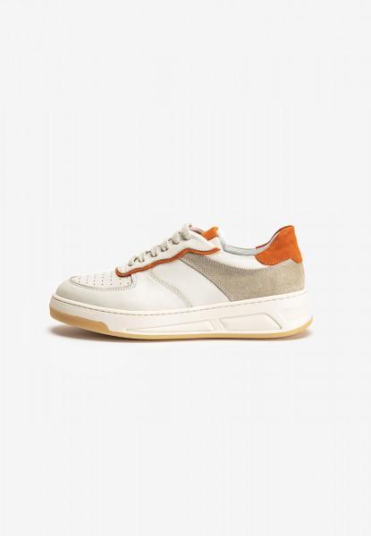 Inuovo Sneaker Leder Beige/Orange