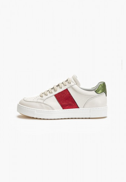 Inuovo Sneaker Leder Rot