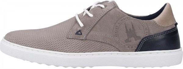 Gaastra Sneaker Nubuk/Velours Grau