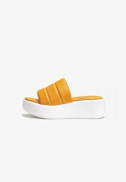 Inuovo Pantoletten Leder Orange