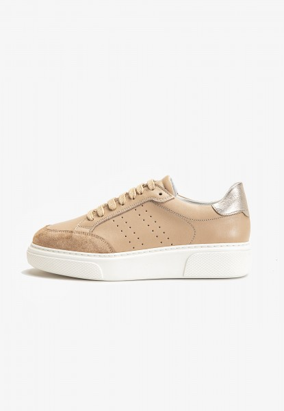 Inuovo Sneaker Leather Nude