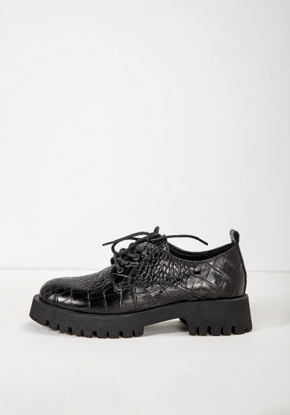 Inuovo Lace Ups Leather black/black