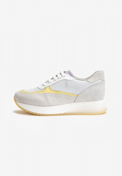 Inuovo Sneaker Leder Yellow