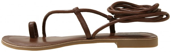 Inuovo Sandals Leather Dark brown