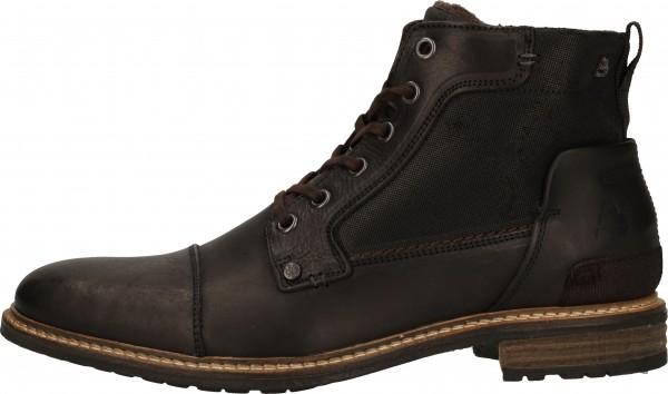 Bullboxer Booties Leather black2