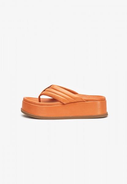 Inuovo Zehensteg Leder Orange