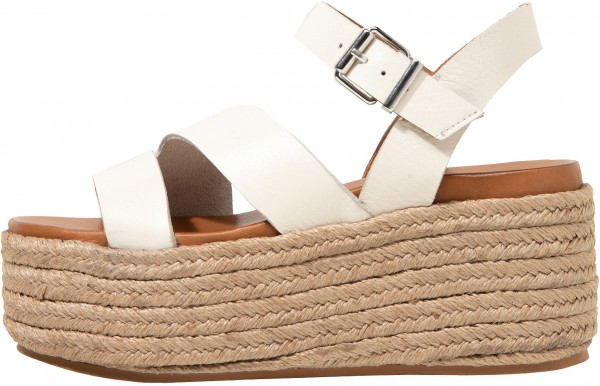 Inuovo Sandals Leather offwhite
