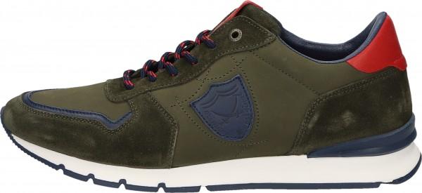 Sansibar Sneaker Leder Olive