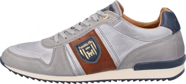 Pantofola d Oro Sneaker Leder Grau/Lila