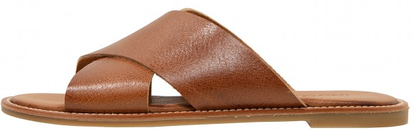 Inuovo Mules Leather Medium Brown