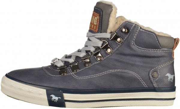 Mustang Sneaker Synthetik Navy
