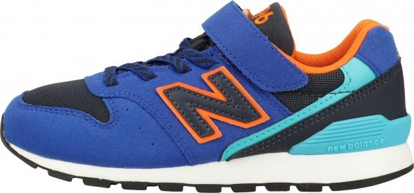 New Balance Sneaker Lederimitat/Textil Blau/Orange