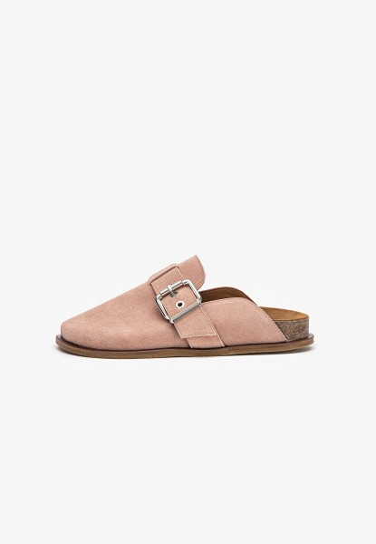 Inuovo Clogs Veloursleder Coral