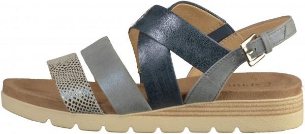 promo code 1f1bf 894a4 Caprice Sandalen Leder Blau
