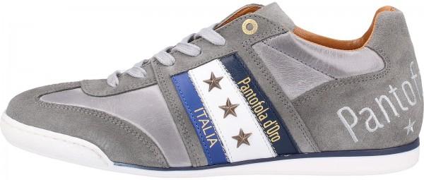 Pantofola d Oro Sneaker Leder Hellgrau