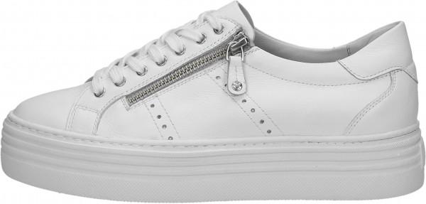 Venturini Milano Sneaker Leder Weiß