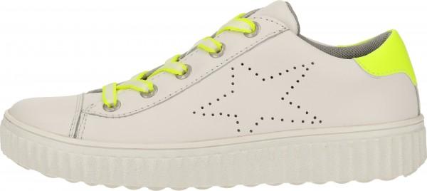 Lurchi Sneaker Nappaleder Weiß