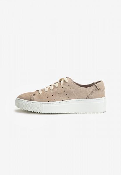 Inuovo Sneaker Leder Silber/Grau
