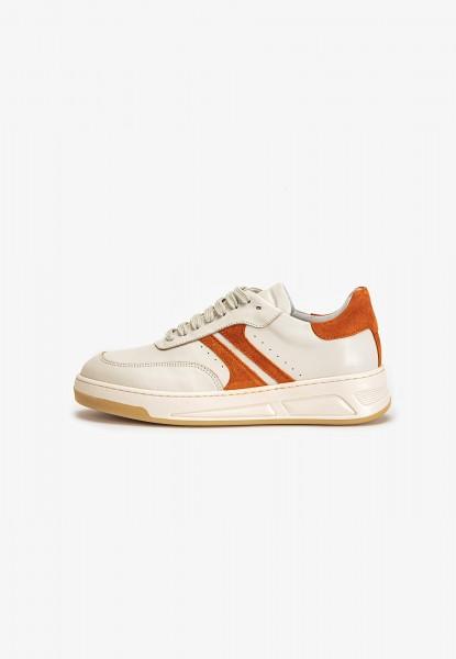 Inuovo Sneaker Leder Weiß/Orange