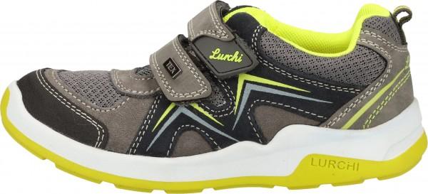 Lurchi Sneaker Veloursleder/Textil Grau