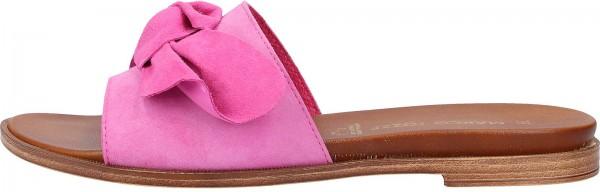 Marco Tozzi Pantoletten Veloursleder Pink