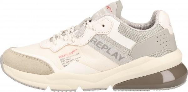 Replay Sneaker Leder/Mesh Offwhite