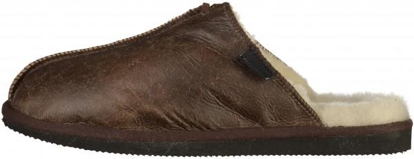 Shepherd Home Shoes Leather Dark brown