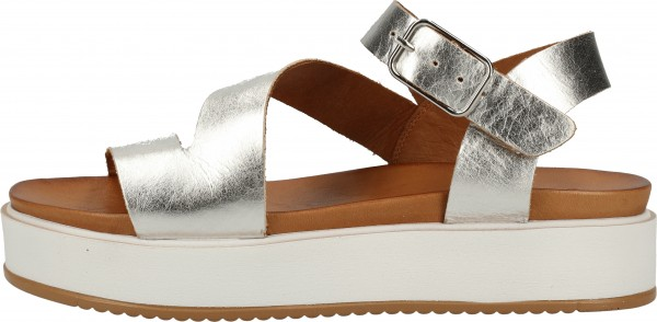 Inuovo Sandals Leather silver