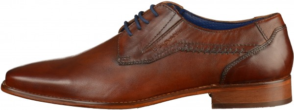 Bugatti Lace Ups Leather Cognac