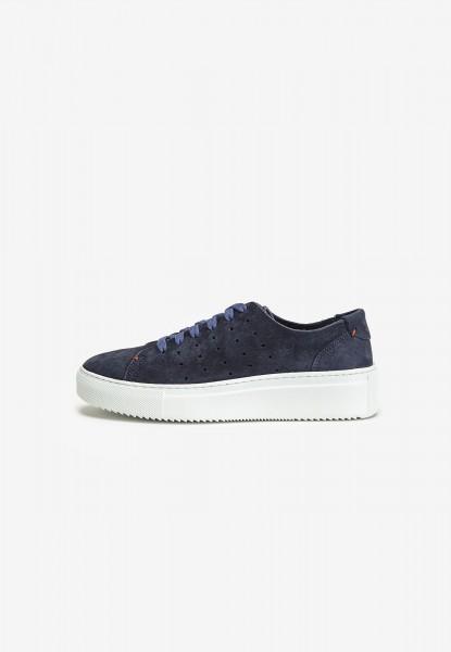 Inuovo Sneaker Leder Blau