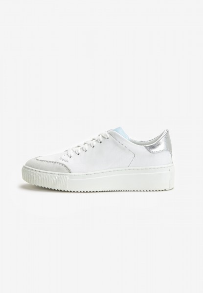 Inuovo Sneaker Leather white / blue