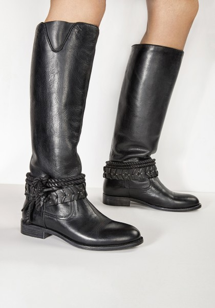 Inuovo Boots Leather black2