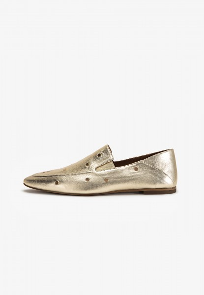 Inuovo Slipper Leder Gold
