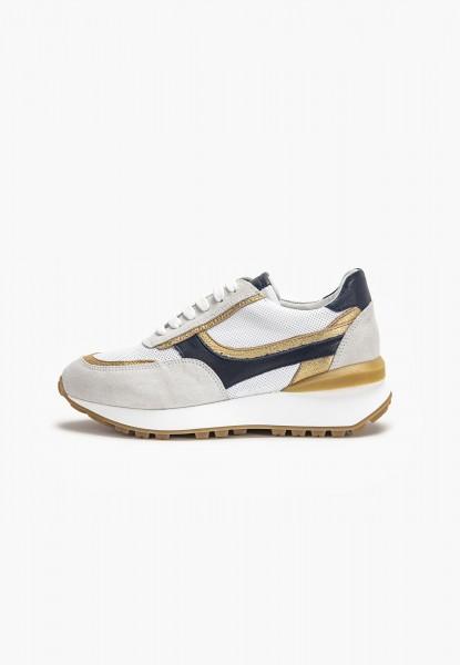 Inuovo Sneaker Leder Gold
