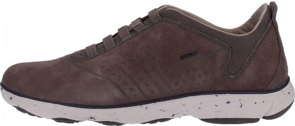 Geox Sneaker Nubukleder/Textil Beige