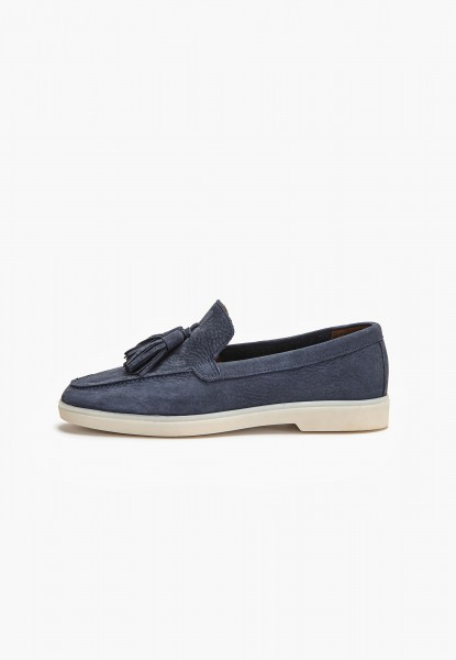 Inuovo Loafers Leather Dark