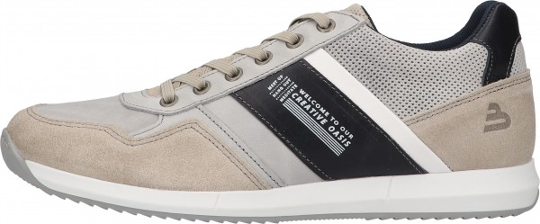 Bullboxer Sneaker Leather/Textile Gray