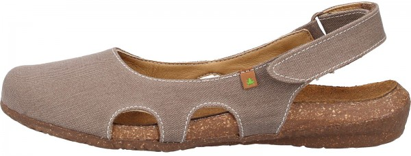 El Naturalista Sandals Textile brown
