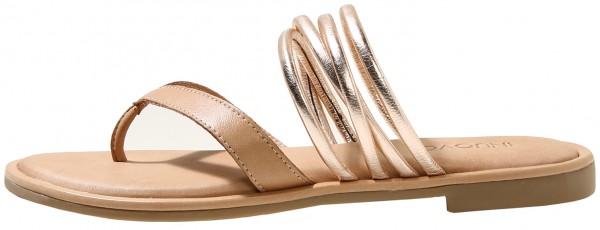 Inuovo Sandals Leather Metallic Copper