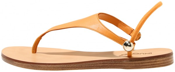 Inuovo Sandals Leather Orange