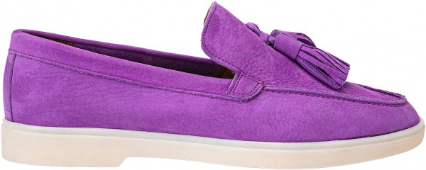 Inuovo Slipper Leder Purple
