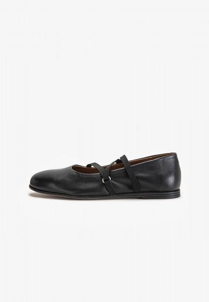 Inuovo Ballerinas Leather black2