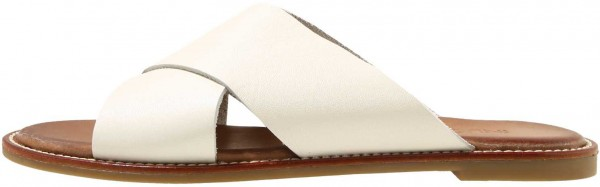 Inuovo Mules Leather offwhite