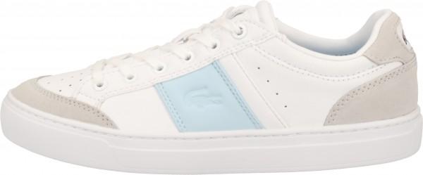 Lacoste Sneaker Lederimitat Weiß